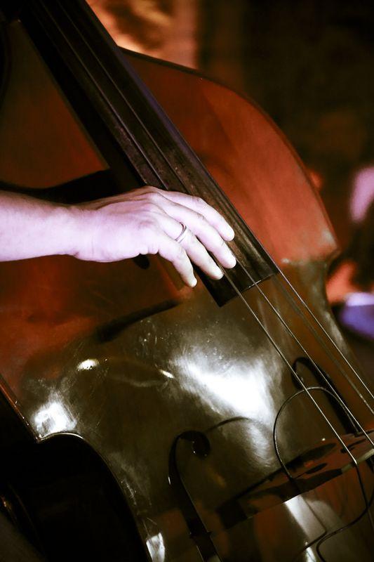 hand fingerboard bass jazz pic