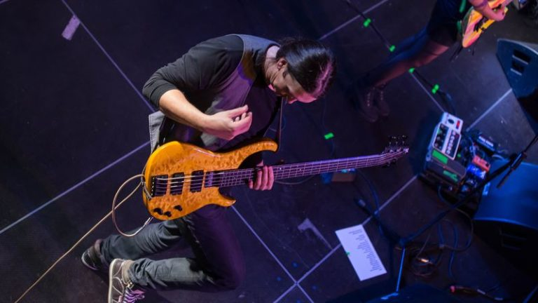 Bass live stage pic bassist bassplayer modulus