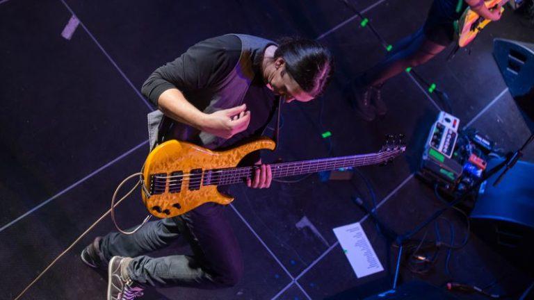 Bass live stage pic bassist bassplayer modulus