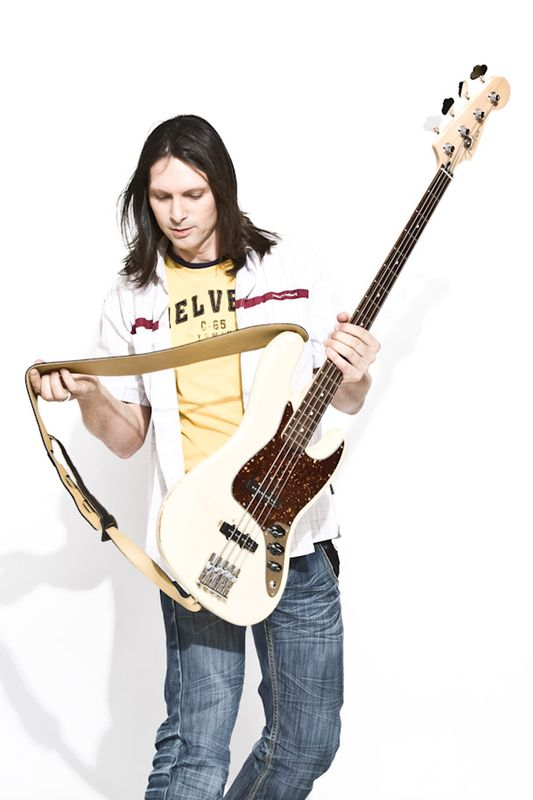 Bass studio pic bassist bassplayer long hair