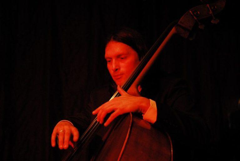 Upright Jazz player
