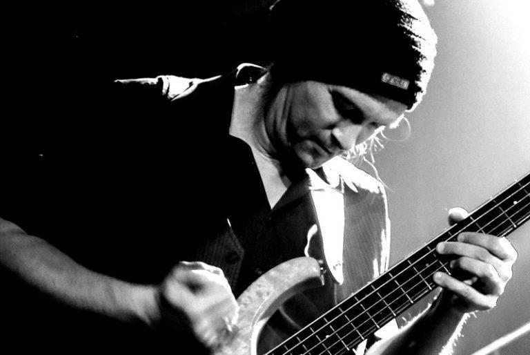 Bass live pic bw bassist bassplayer