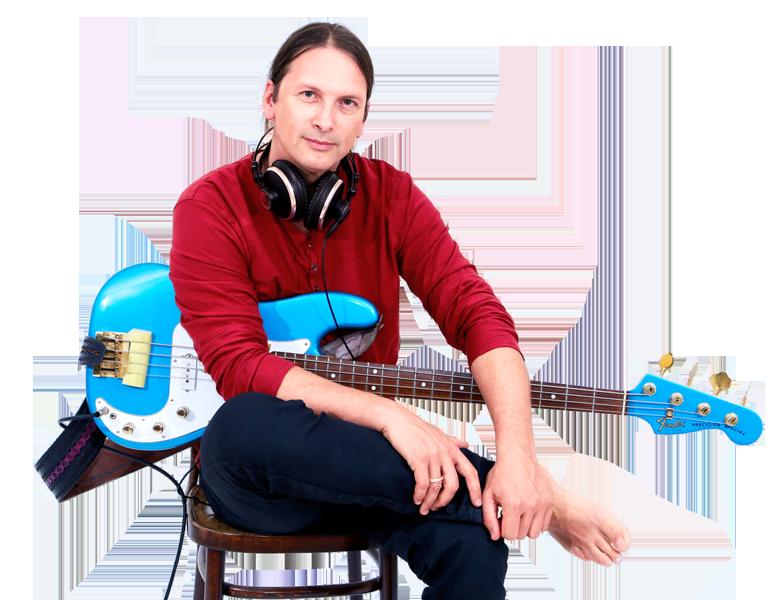 Steffen Knauss Bass Kontrabass Studio recording artist