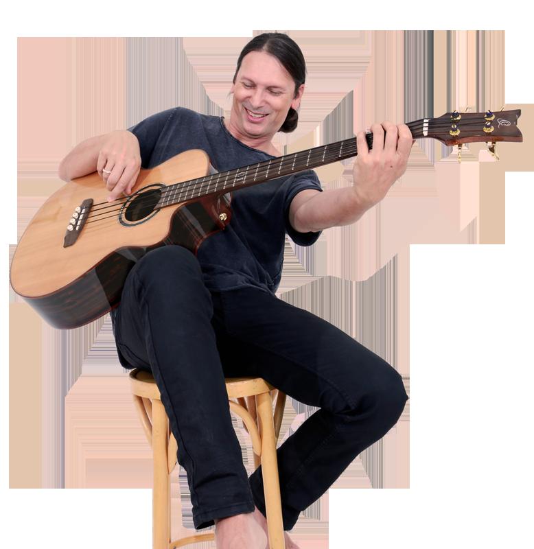 Steffen Knauss Acoustic Bass Guitar Ortega